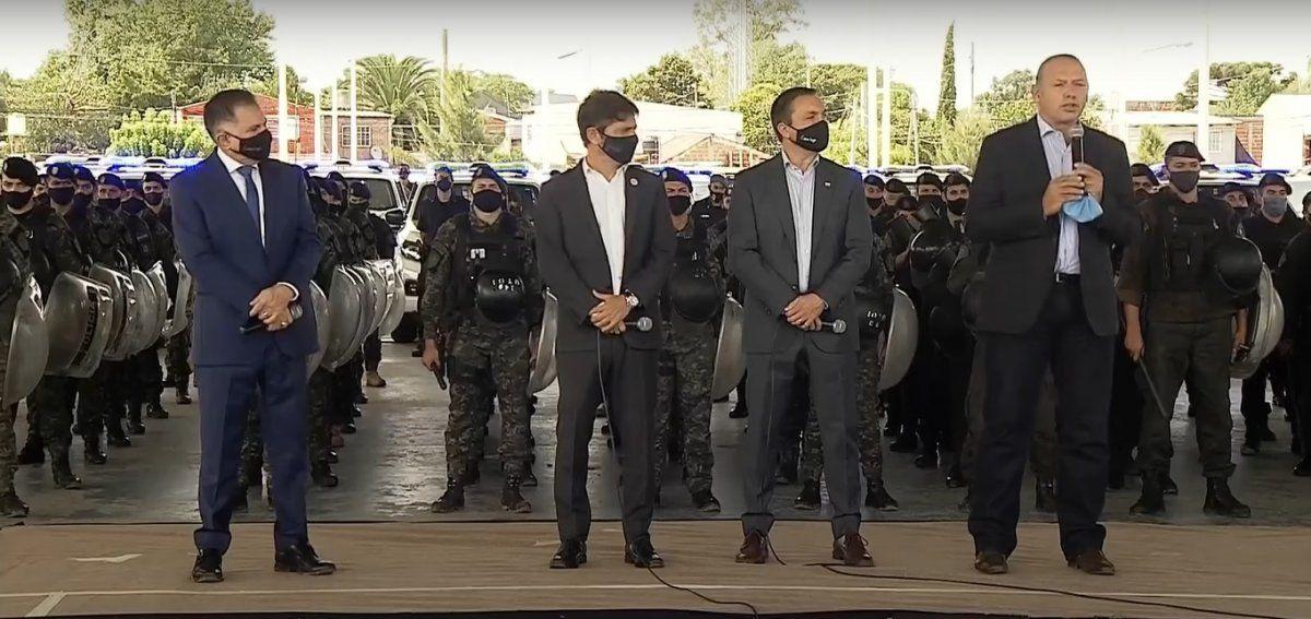 Berni, sobre los organizadores de la protesta policial: Los echaron por ladrones