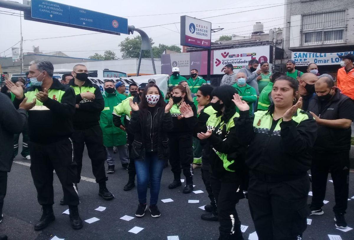 Lanús: municipales rechazaron el 10% de aumento ofrecido por Grindetti