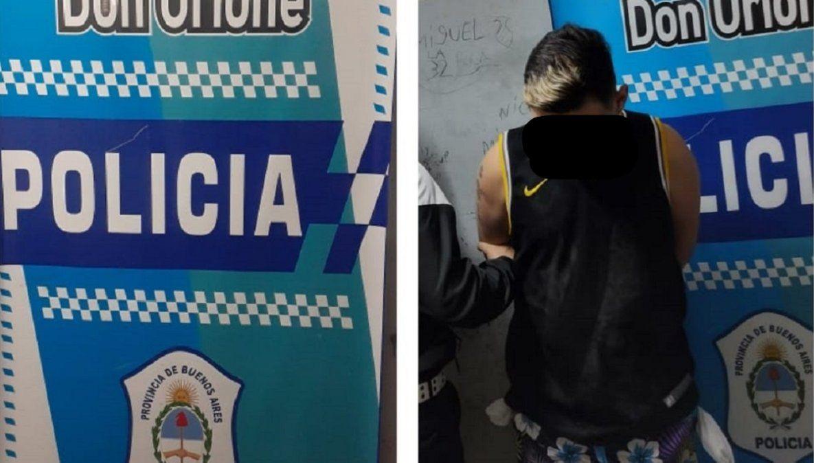 Detuvieron a un criminal buscado por homicidio en Don Orione