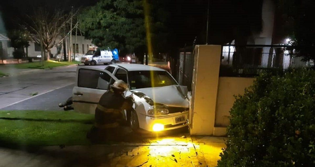 Accidente en Adrogué