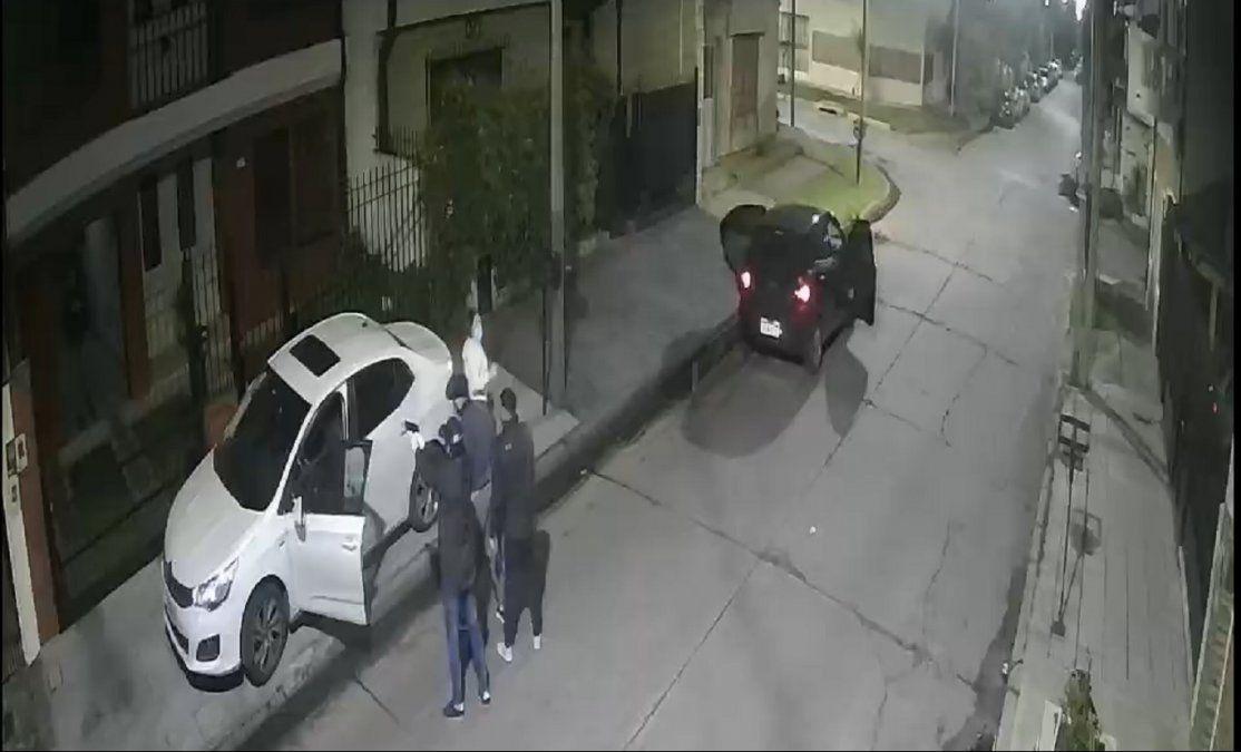 Robo en Lomas de Zamora.