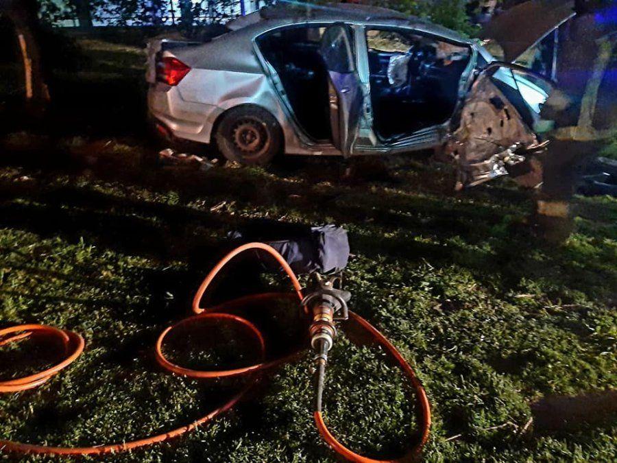 Longchamps: violento choque dejó varios heridos