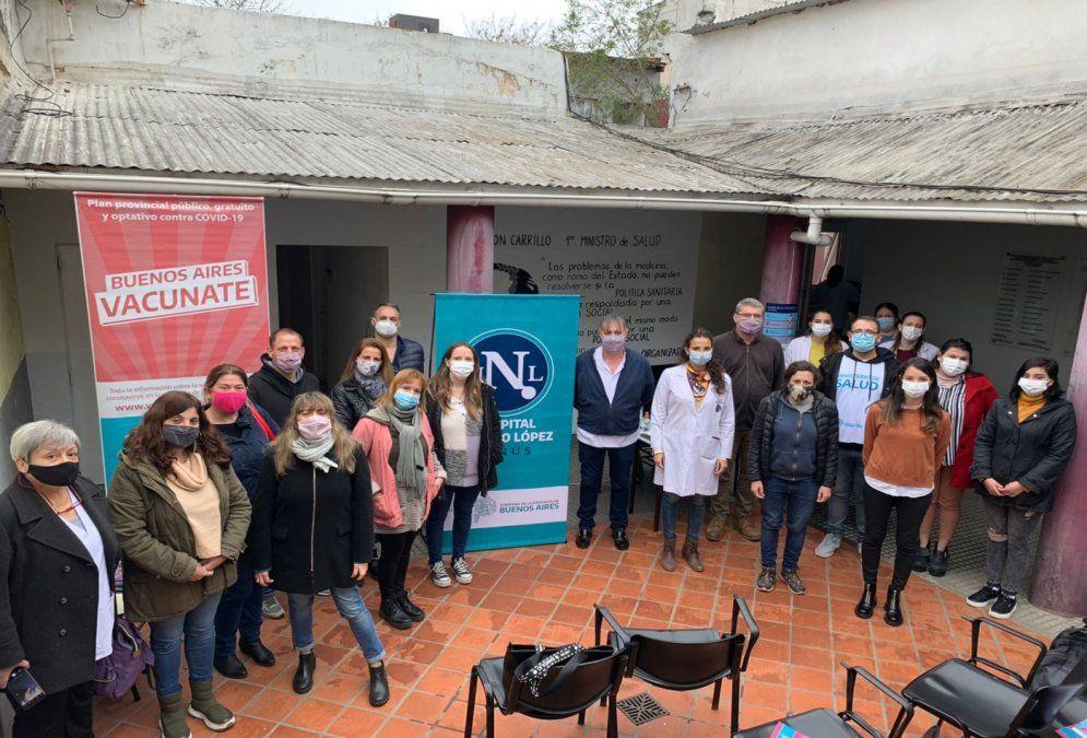 Lanús: habrá comunicación inclusiva en una posta de vacunación