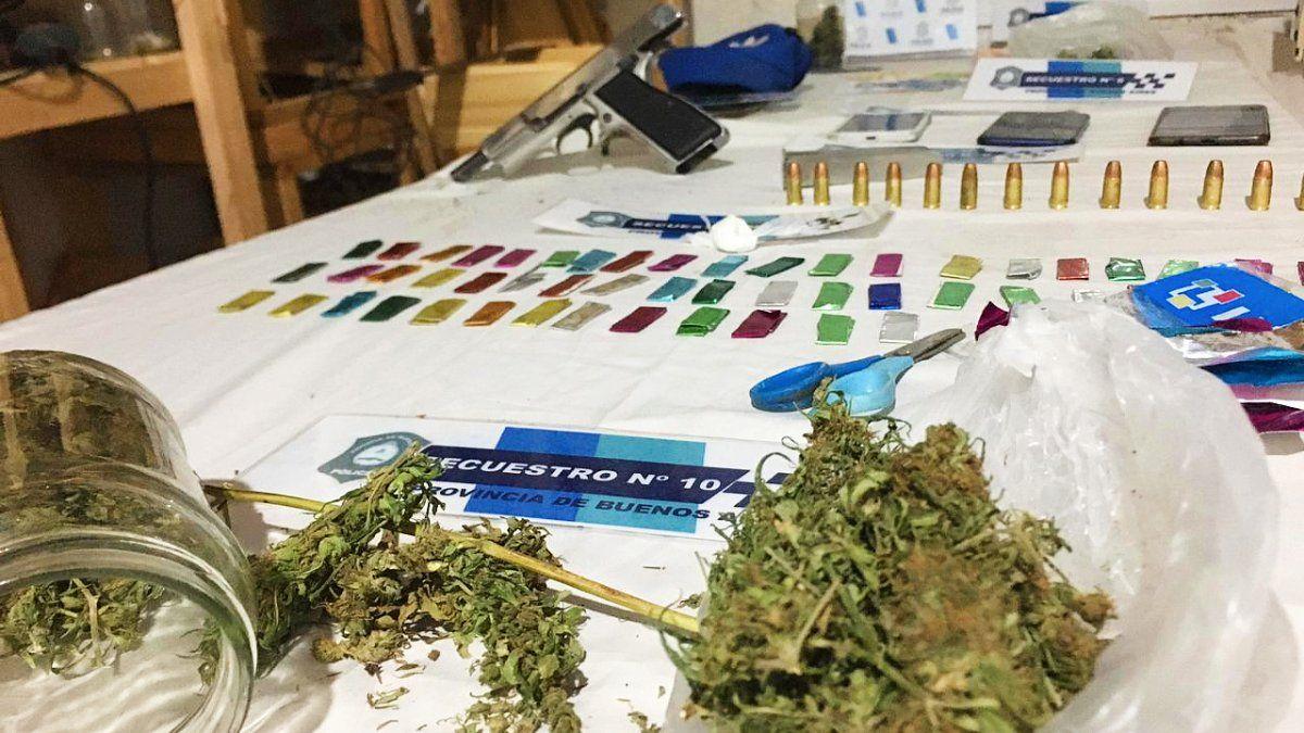 Tres dealers de droga fueron detenidos en Monte Grande