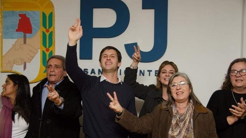 Mantegazza recibió el apoyo del massismo de San Vicente, que tendrá lugares en su lista