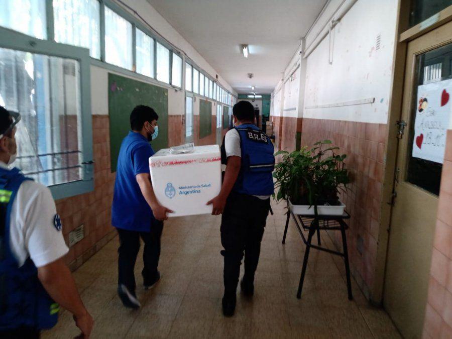 Lomas de Zamora ya tiene las vacunas para los vecinos: se aplicarán en dos escuelas