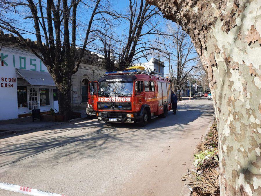 Tensión entre vecinos de Burzaco por un escape de gas