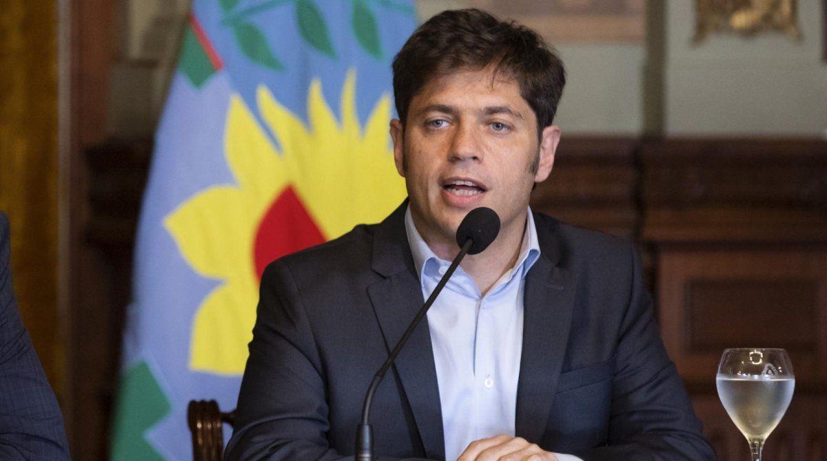 Los ministros de la provincia le presentaron la renuncia a Axel Kicillof