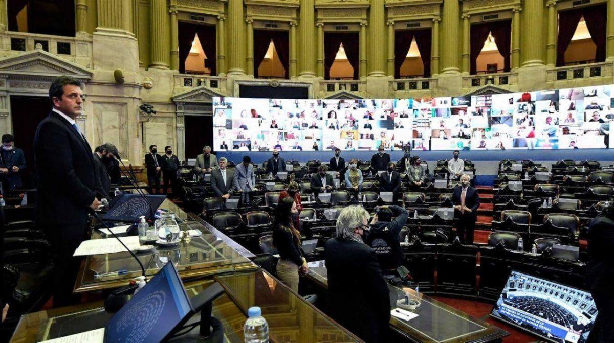 "Diputados aprobó la ""moratoria ampliada"""