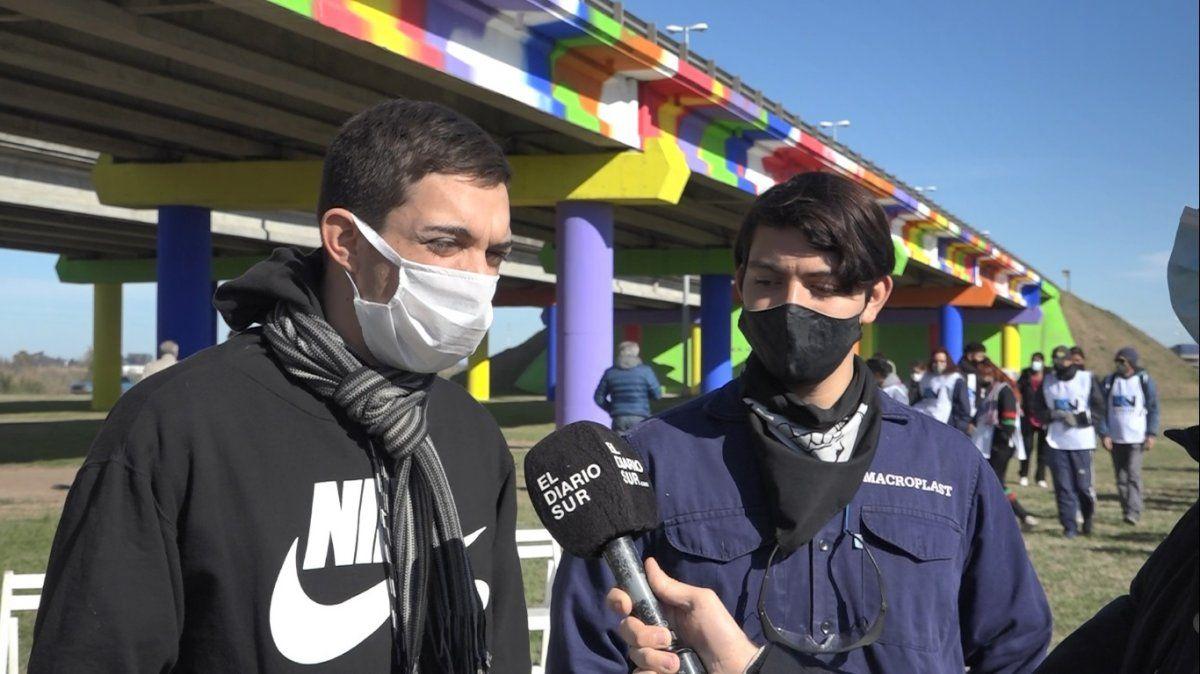 Inauguraron en Alejandro Korn el mural más grande de la Provincia: homenaje a fallecidos en pandemia