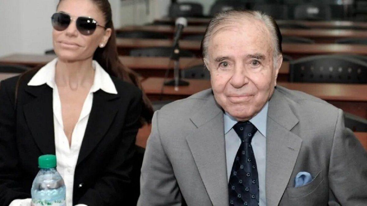 Carlos Menem había sido internado nuevamente este miércoles