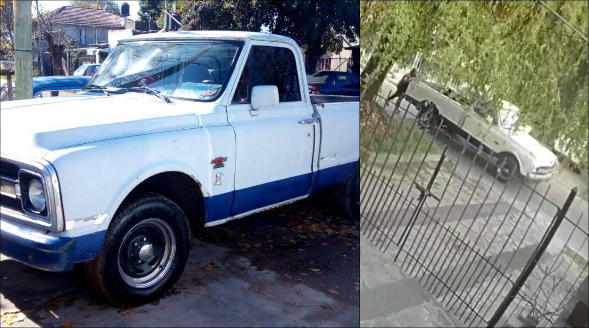 San José: le robaron la camioneta que usaba para trabajar