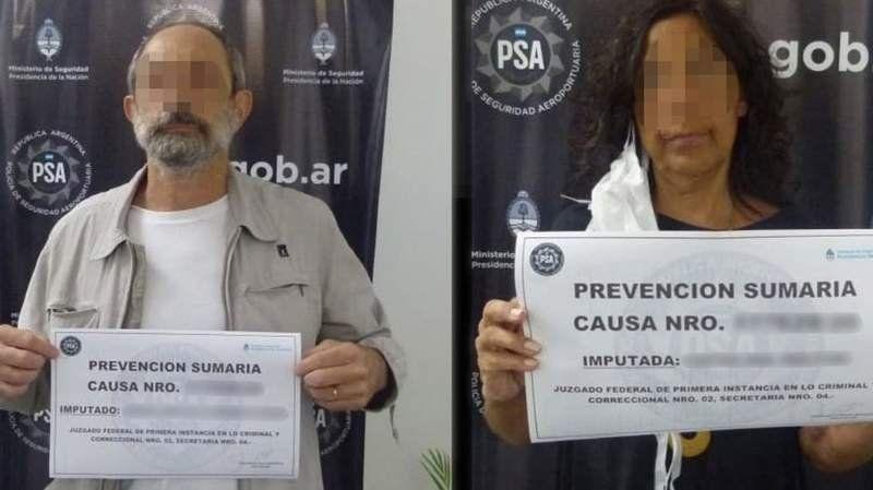 Dos argentinos fueron detenidos en Ezeiza por agredir a la policía y negarse a cumplir la cuarentena