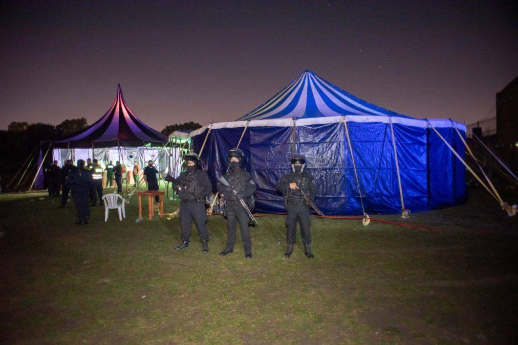 Insólito: Una fiesta clandestina en Temperley con más de 1.200 personas
